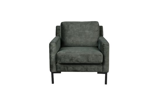 Houda armchair forest color Clipped