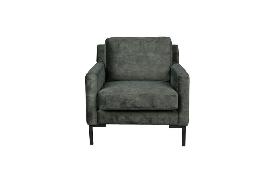 Houda armchair forest color - 5