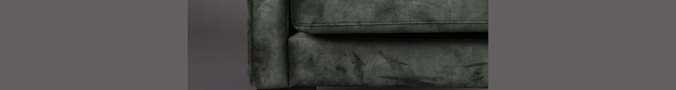 Material Details Houda armchair forest color