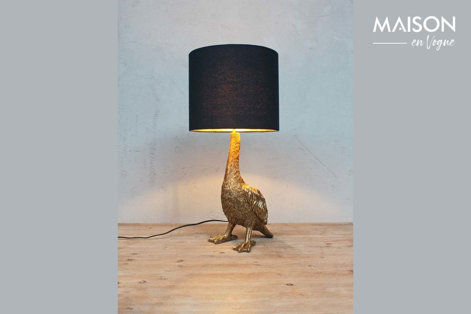 An original light for a playful and chic decoration