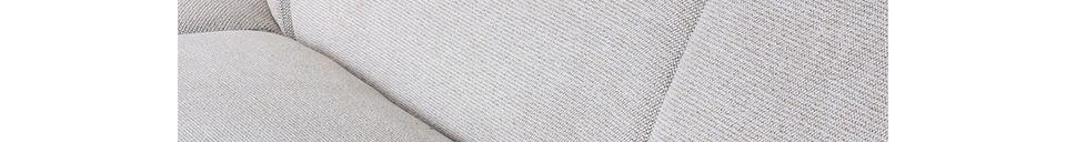 Material Details Jax sofa piece