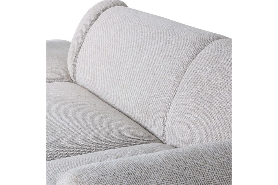 This is a sofa element that can be combined with other parts of the same range