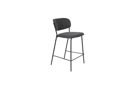 Jolien bar stool dark grey Clipped
