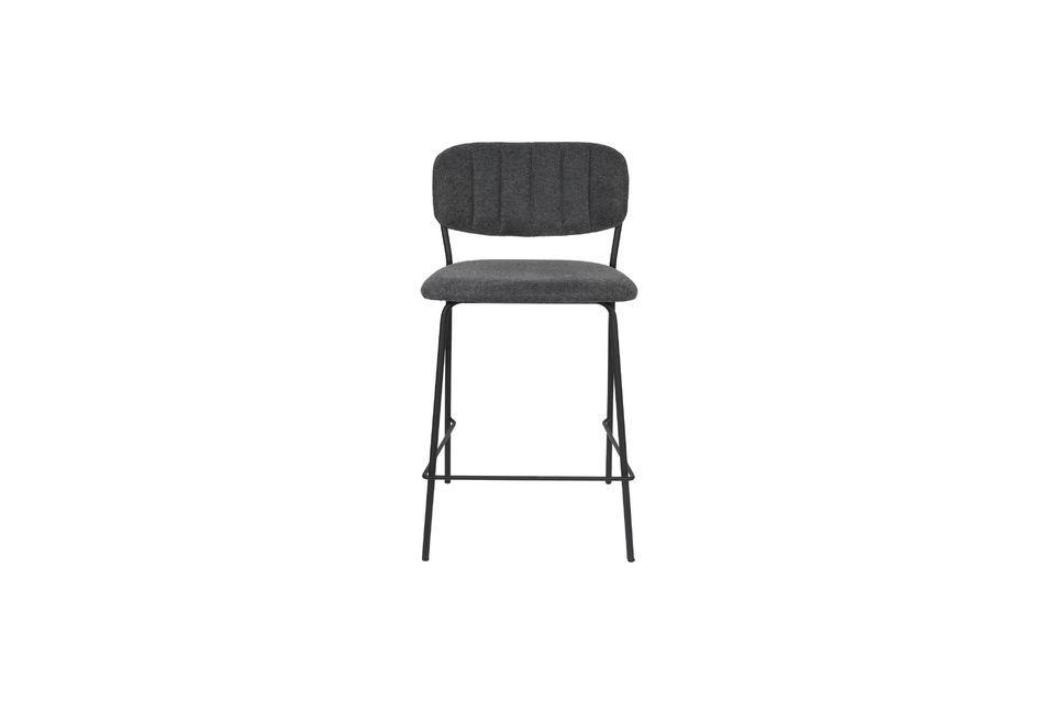 Jolien bar stool dark grey - 8