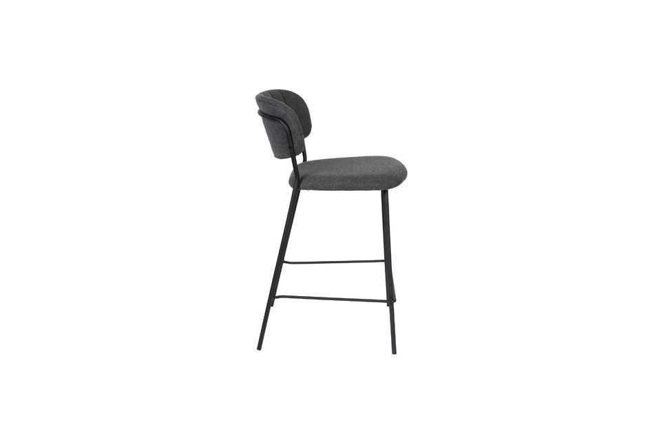 Jolien bar stool dark grey - 9