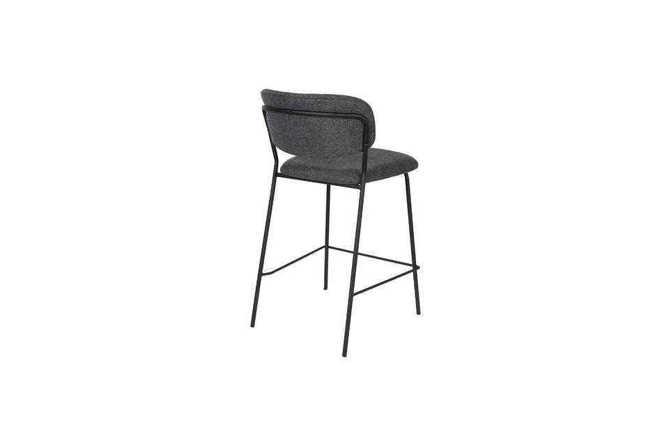 Jolien bar stool dark grey - 10