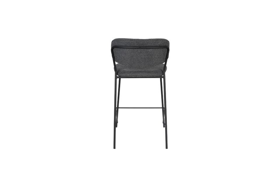 Jolien bar stool dark grey - 11