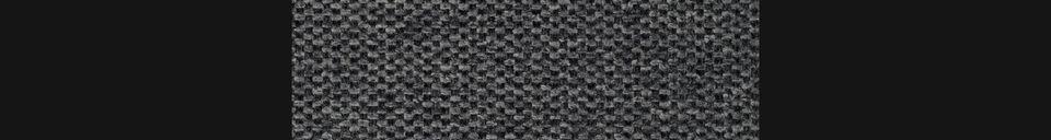 Material Details Jolien bar stool dark grey