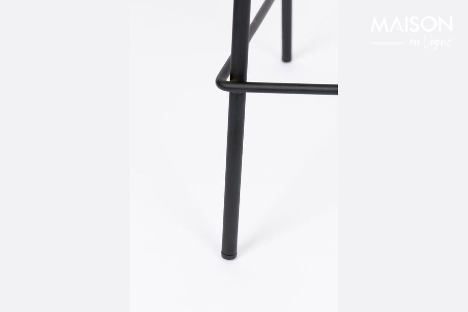 Jolien bar stool dark grey - 6
