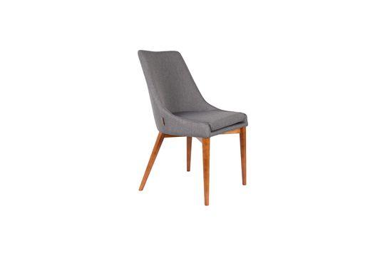 Juju chair in grey fabric