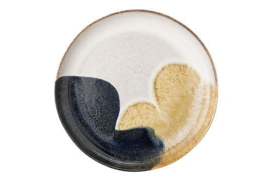 Jules stoneware serving plate Clipped