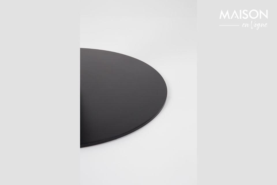 King Marble Table 90' black - 6