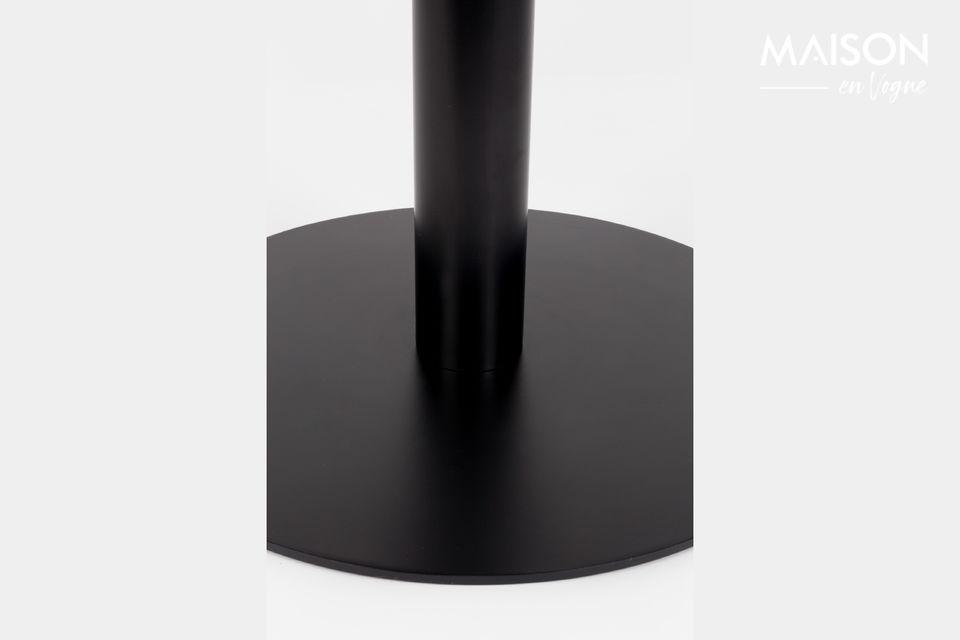 King Marble Table 90' black - 7