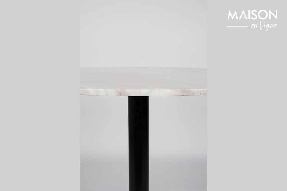 King Marble Table 90' black - 11