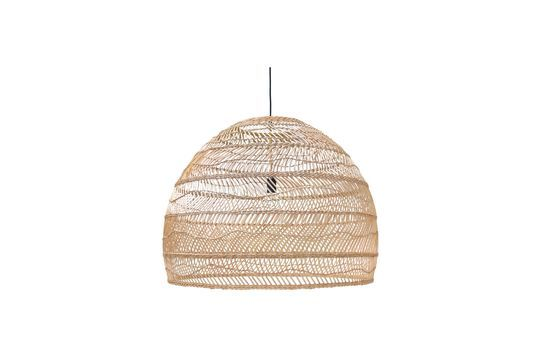 Large Champeix wicker suspension Clipped
