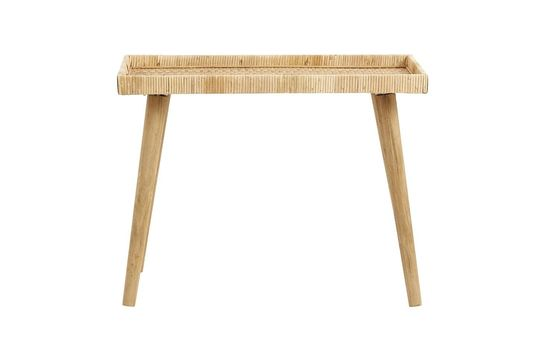 Large Rattan Table Turn