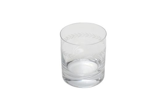 Laurier Engraved whisky glass