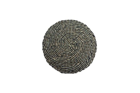 Laveyron spiral placemat in natural sea rush