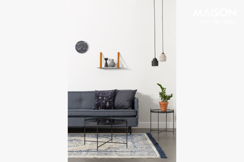 A modern and unusual lamp
