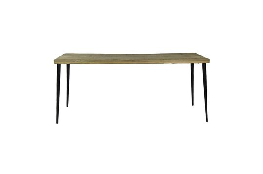 Legno table in mango wood L 180 x W 60 x H 77 cm