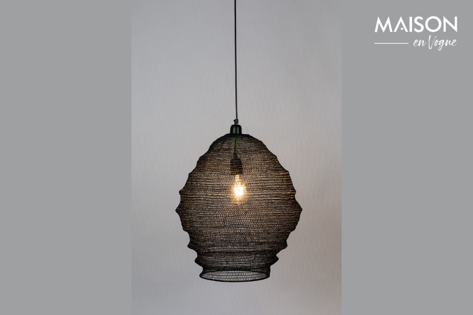 A graphic luminaire