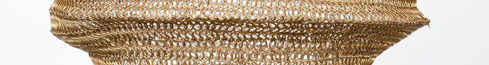 Material Details Lena brass Suspension size M