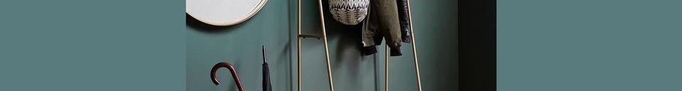 Material Details Lesges Coat rack with shelf