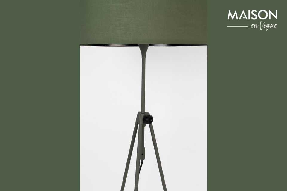 This floor lamp is also an extremely practical accessory for everyday use