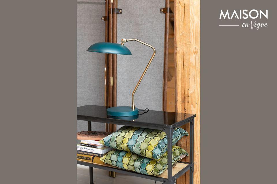 Liam duck blue desk lamp Dutch Bone