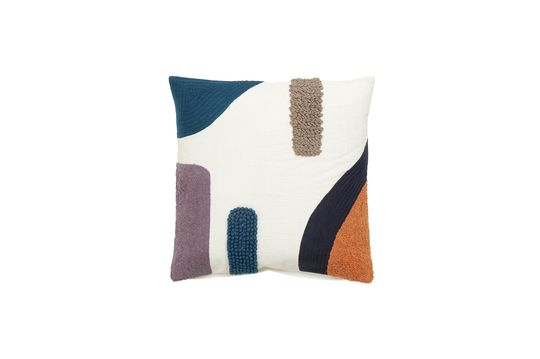 Lines Cotton cushion cover