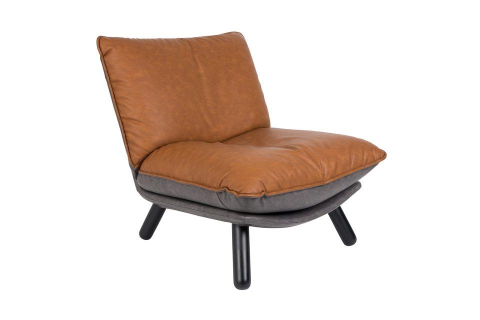 Lounge chair Lazy Sack Li Brown Zuiver