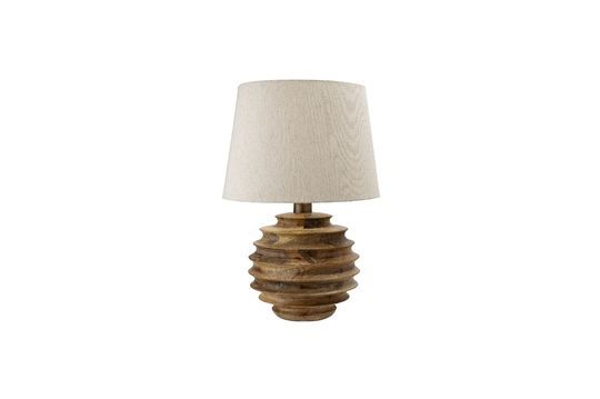 Magny table lamp made of mango wood
