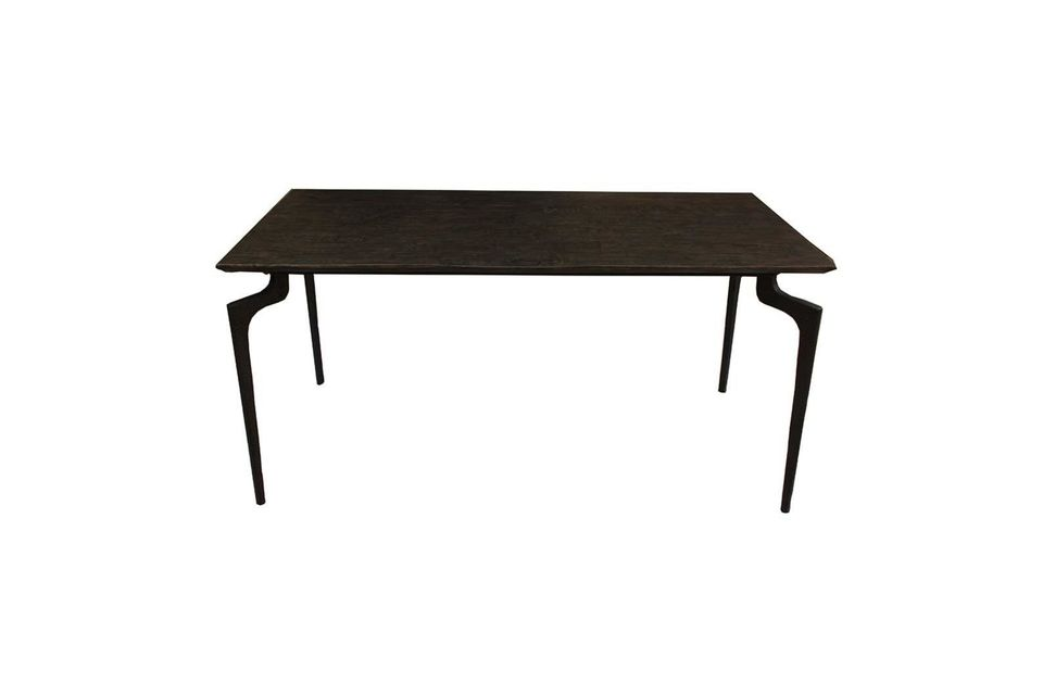 Mammoth brown Dining table Nordal