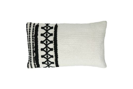 Marrakech cotton cushion Clipped