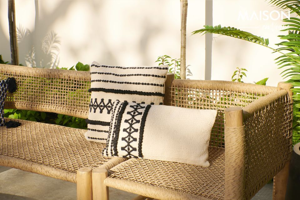 Marrakech cotton cushion