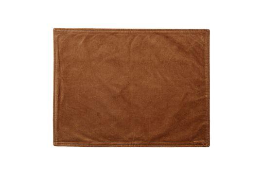 Marsas Orange cotton placemat Clipped