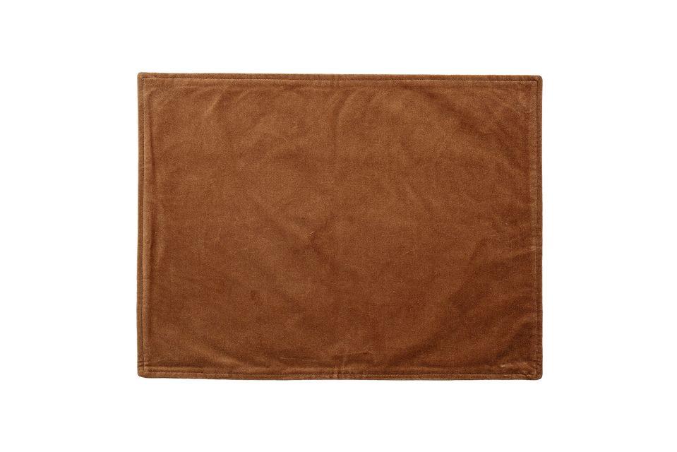 Marsas Orange cotton placemat Bloomingville