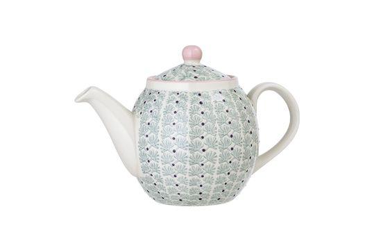 Maya stoneware teapot Clipped