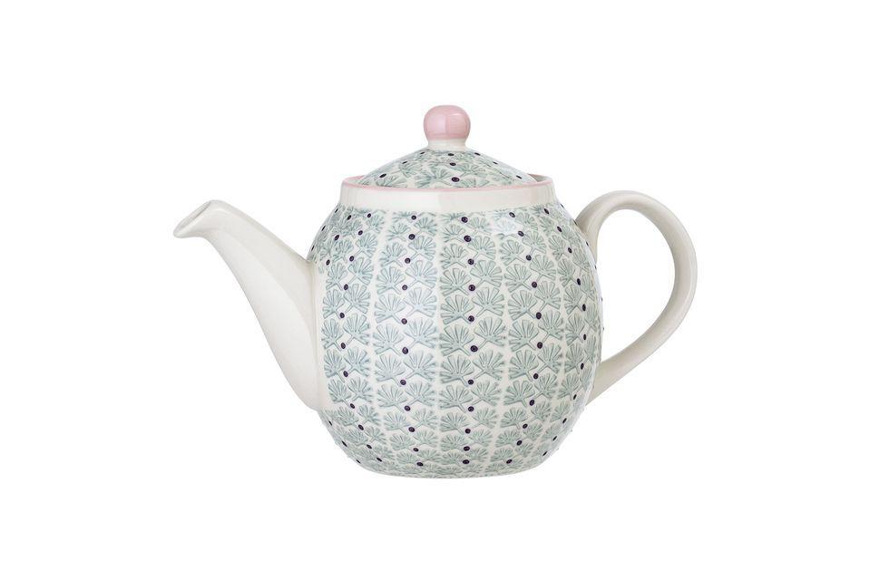 Maya stoneware teapot