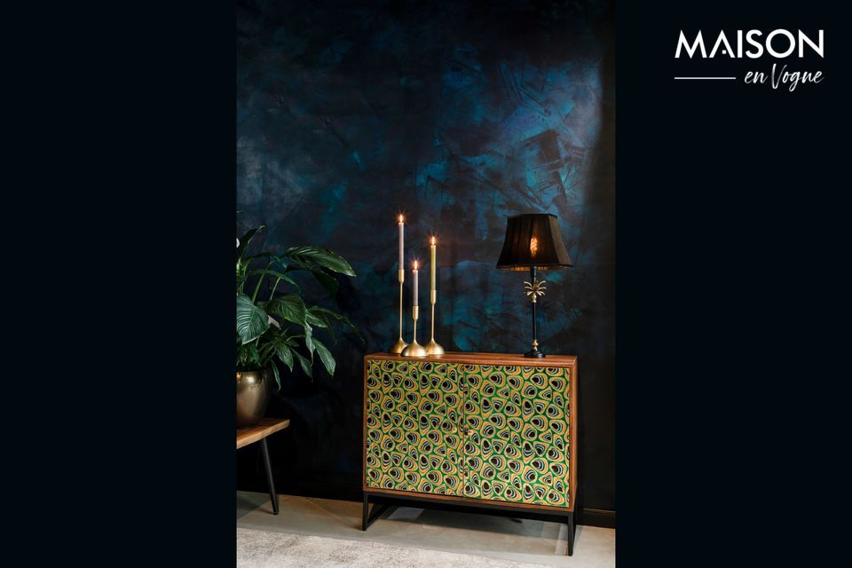Put some pep in your decoration and sublimate your interior with this magnificent buffet
