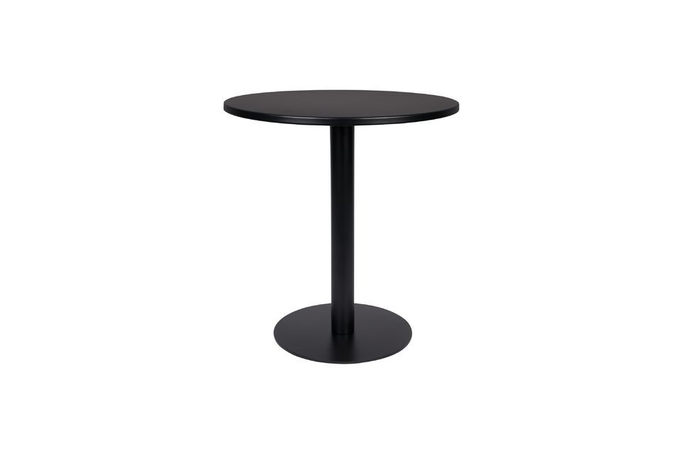 Its simple and efficient design with its round top echoing the base of its leg