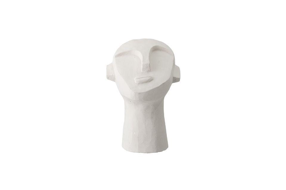 Michery white cement decoration