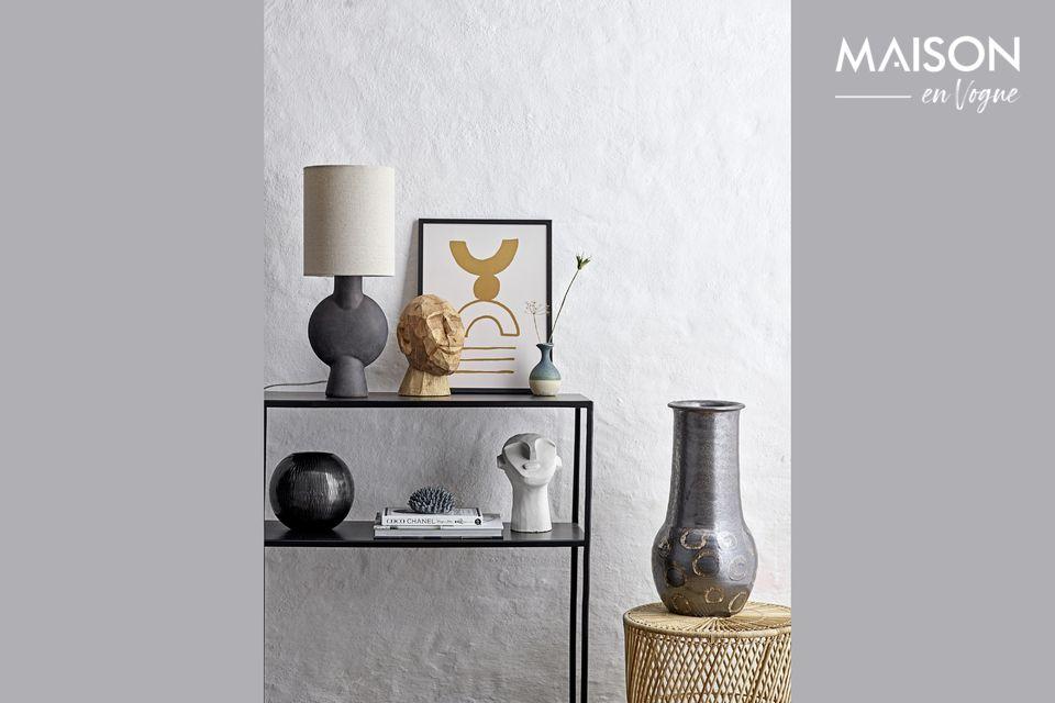 A modern, original and striking decoration