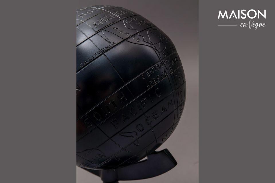 The Miles globe is the perfect personal decoration item on the desk of those who love to travel