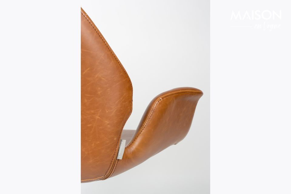 nikki Lounge chair brown - 4