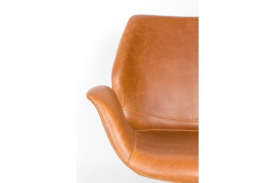 nikki Lounge chair brown - 5