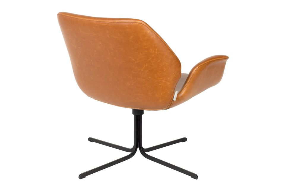 nikki Lounge chair brown - 8