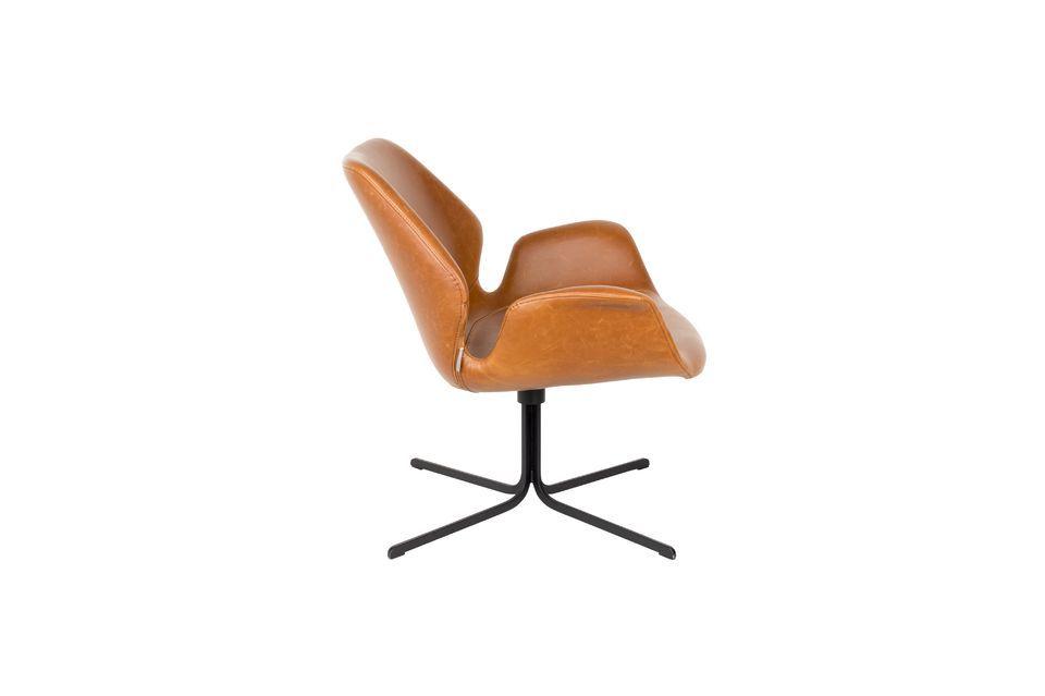 nikki Lounge chair brown - 9