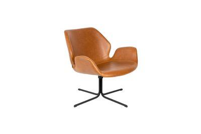 nikki Lounge chair brown