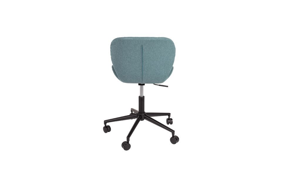 OMG Office chair black and blue - 6